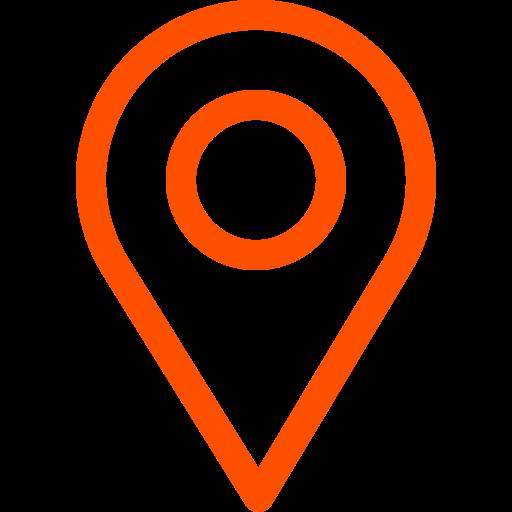 pin auf der karte